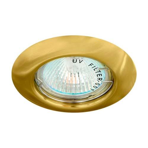 Фото -Встраиваемый светильник Feron DL13 золото 15127