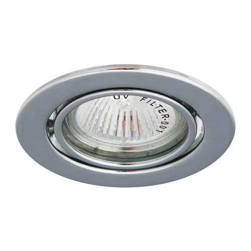 Фото -Встраиваемый светильник Feron DL11 хром 15118