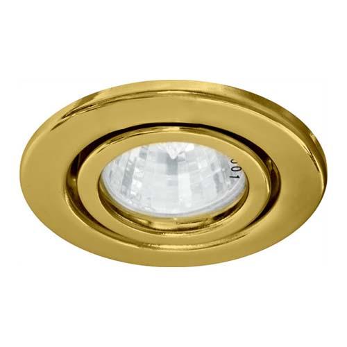 Фото -Встраиваемый светильник Feron DL11 золото 15115