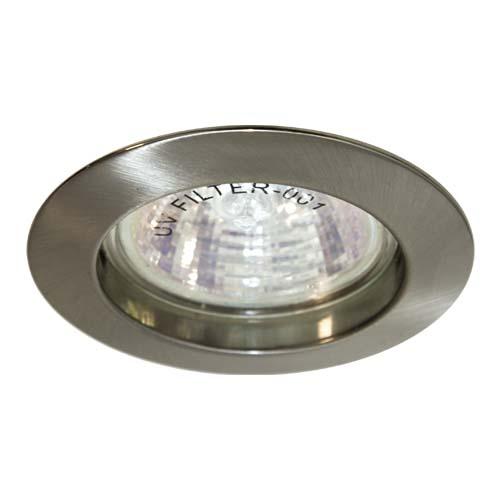 Фото -Встраиваемый светильник Feron DL307 титан 15011