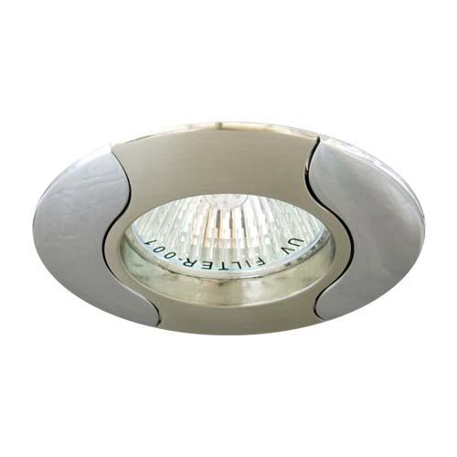 Фото -Встраиваемый светильник Feron 020Т MR-16 титан хром 17681