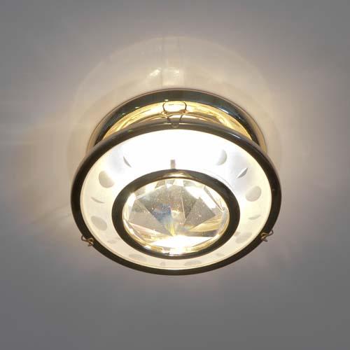 Фото -Встраиваемый светильник Feron DL4164 хром 17191