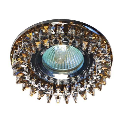 Фото -Встраиваемый светильник Feron CD2540 прозрачный чайний 18924