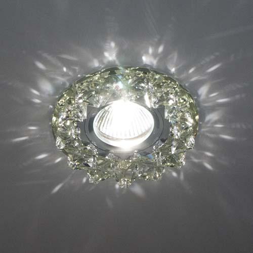 Фото -Встраиваемый светильник Feron CD2542 прозрачный прозрачный 18929