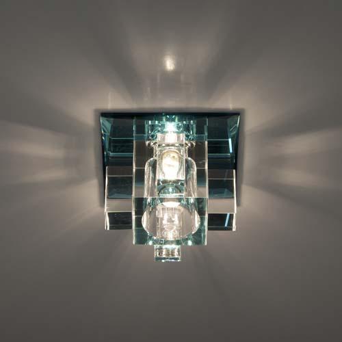Фото -Встраиваемый светильник Feron 1525 сиреневый 19780