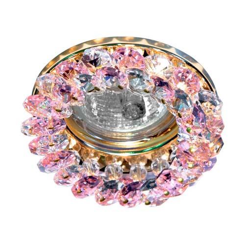 Фото -Встраиваемый светильник Feron CD4141 розовый золото 19931