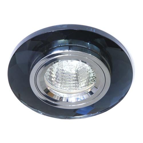Фото -Встраиваемый светильник Feron 8050-2 серый серебро 20113