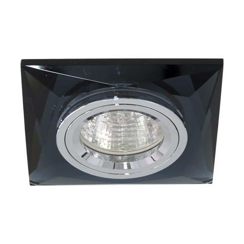 Фото -Встраиваемый светильник Feron 8150-2 серый серебро 20125