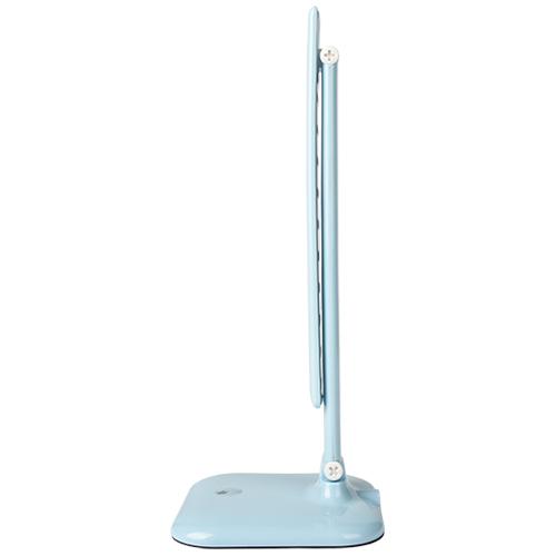 Фото -Настольный светодиодный светильник Feron DE1725 голубой 24230