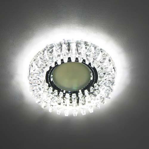 Фото -Встраиваемый светильник Feron CD2540 с LED подсветкой  27966