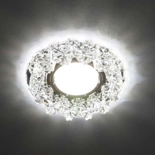 Фото -Встраиваемый светильник Feron CD2542 с LED подсветкой  27968