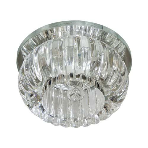 Фото -Встраиваемый светильник Feron C1010 с LED подсветкой  27841