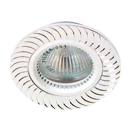 Фото -Встраиваемый светильник Feron GS-M392 серебро 17927