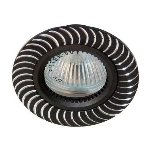 Фото -Встраиваемый светильник Feron GS-M392 черный 17928