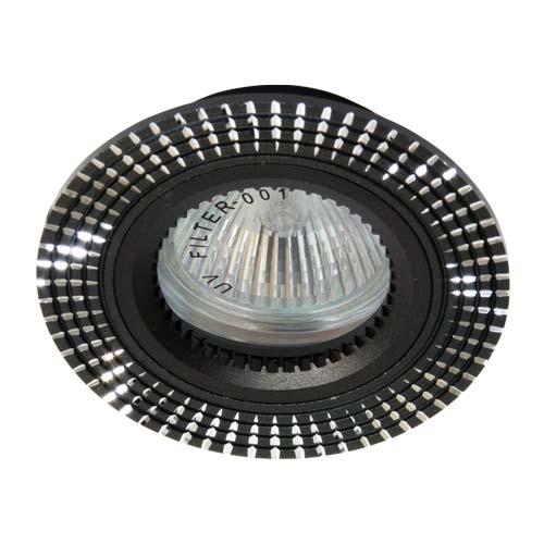 Фото -Встраиваемый светильник Feron GS-M369 черный 17934