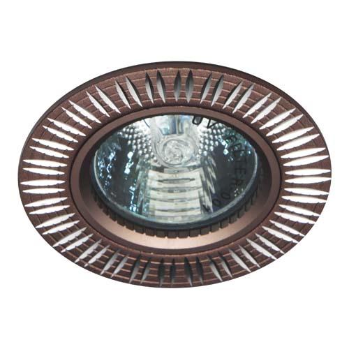 Фото -Встраиваемый светильник Feron GS-M369 коричневый 28215