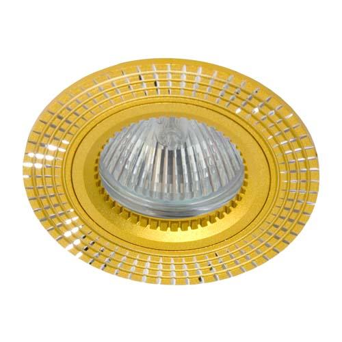 Фото -Встраиваемый светильник Feron GS-M369 золото 17932