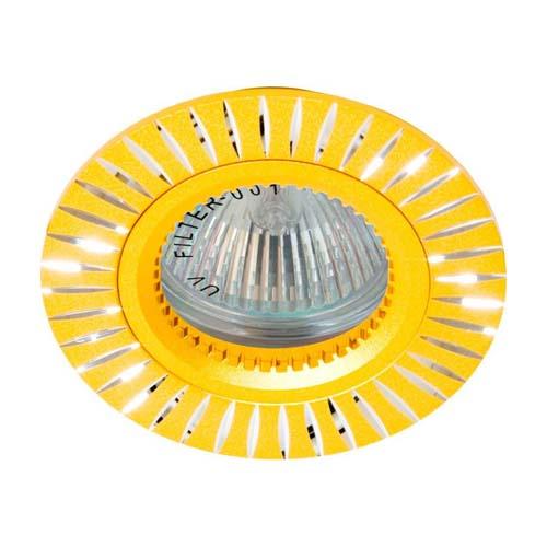 Фото -Встраиваемый светильник Feron GS-M394 золото 17935