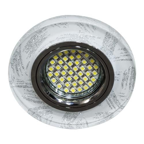 Фото -Встраиваемый светильник Feron 8686-2 с LED подсветкой  28465