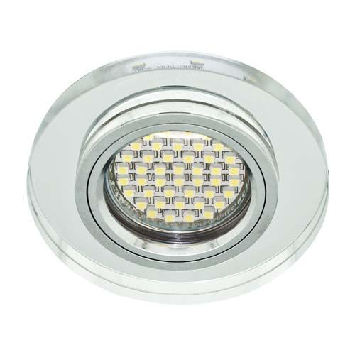 Фото -Встраиваемый светильник Feron 8060-2 с LED подсветкой  28490