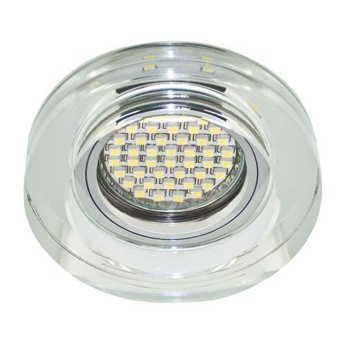 Фото -Встраиваемый светильник Feron 8080-2 с LED подсветкой  28493