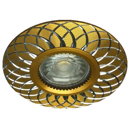 Фото -Встраиваемый светильник Feron GS-M888 золото 28826