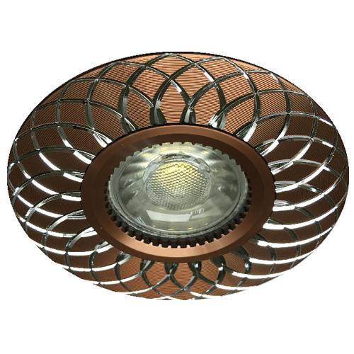 Фото -Встраиваемый светильник Feron GS-M888 коричневый 28827