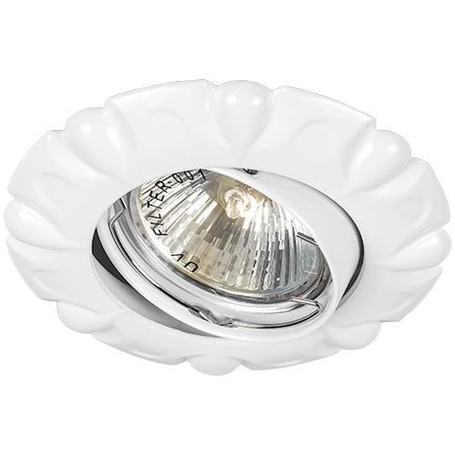 Фото -Встраиваемый светильник Feron DL6124 белый 28868