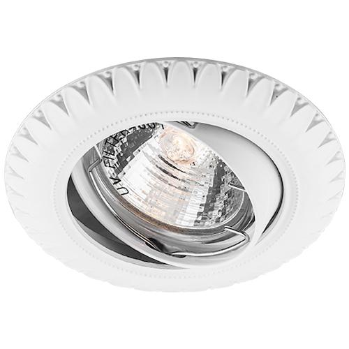 Фото -Встраиваемый светильник Feron DL6051 белый 28872