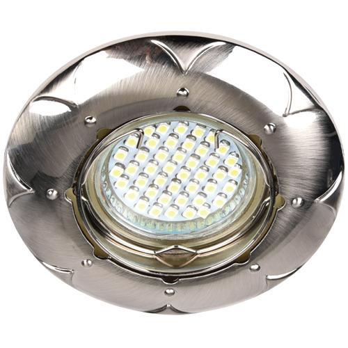 Фото -Встраиваемый светильник Feron DL6022 титан 30130