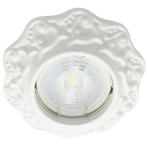 Фото -Встраиваемый светильник Feron DL6241 белый 30137